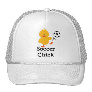 Soccer Chick Hat
