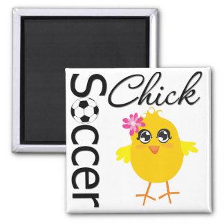 Soccer Chick Magnet