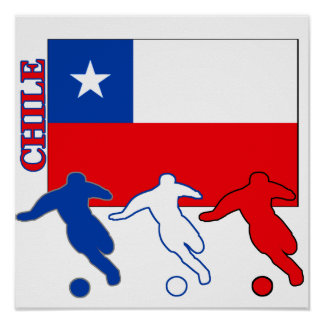 Soccer Chile Poster