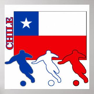 Soccer Chile Print