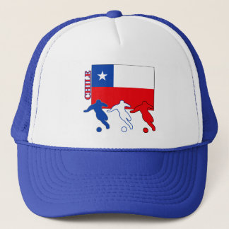 Soccer Chile Trucker Hat