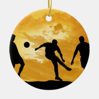 Soccer Christmas Ornament