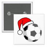 Soccer Christmas Pins