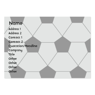 Soccer - Chubby Pack Of Chubby Business Cards