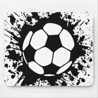 soccer : circles : mouse mat