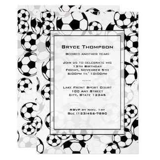 Soccer Classic  Party Invitation