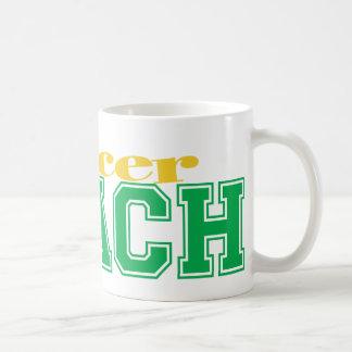 Soccer Coach Basic White Mug