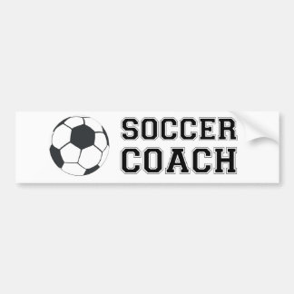 Soccer Coach Bumper Sticker