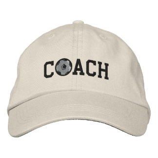 Soccer Coach Cap Embroidered Cap