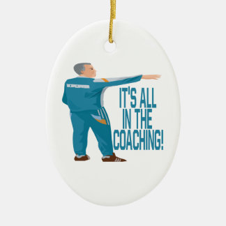 Soccer Coach Christmas Ornament