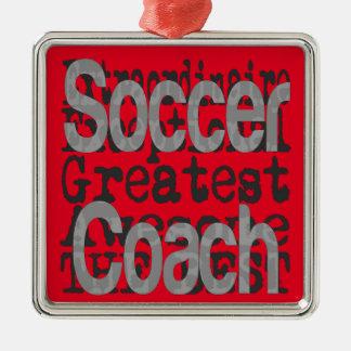 Soccer Coach Extraordinaire Christmas Ornament