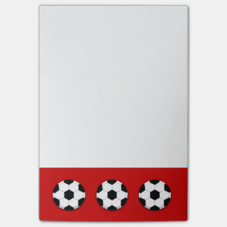 Soccer coach football PERSONALIZE Post-it® Notes