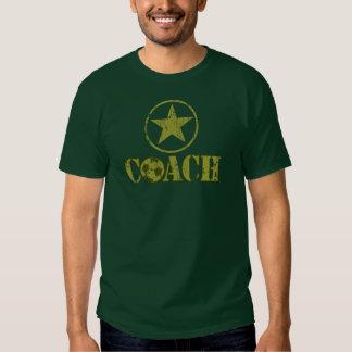 Soccer Coach General's Star T Shirt