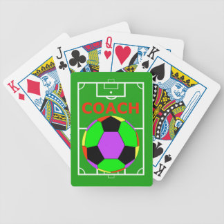 Soccer Coach Gift Playing Cards Decks