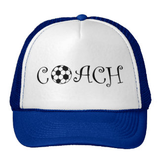Soccer Coach Mesh Hats