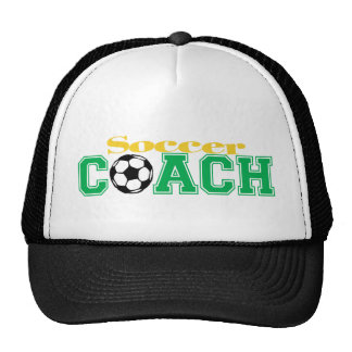 Soccer Coach Hat