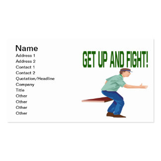 Soccer Coach Pack Of Standard Business Cards
