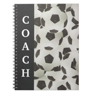 Soccer Coach Playbook Notebook
