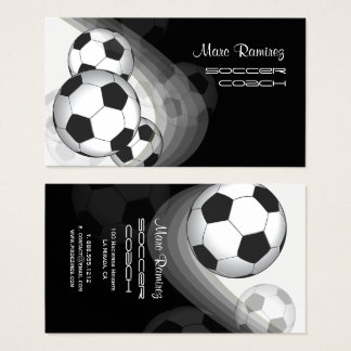 Soccer coach/soccer moms calling cards