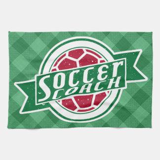 Soccer Coach Tea Towel