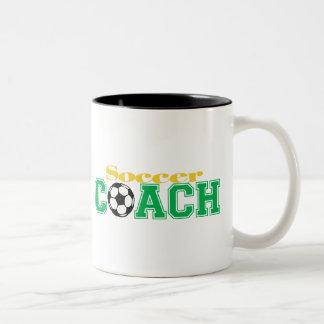Soccer Coach Two-Tone Mug