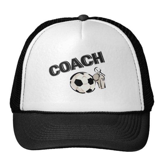Soccer Coach (Whistle/Ball) Cap