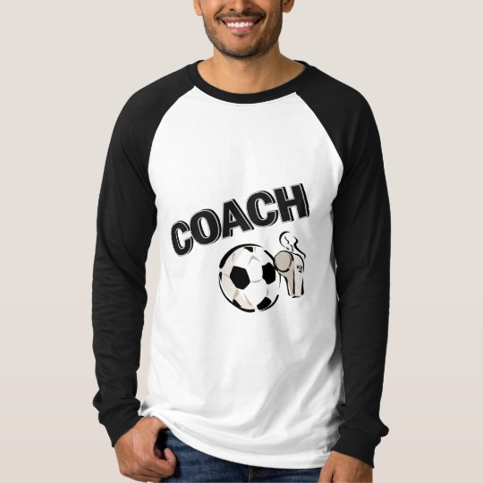 Soccer Coach (Whistle/Ball) T-Shirt