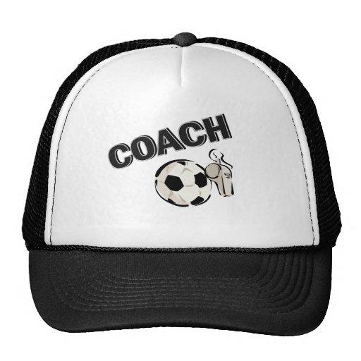 Soccer Coach (Whistle/Ball) Trucker Hat