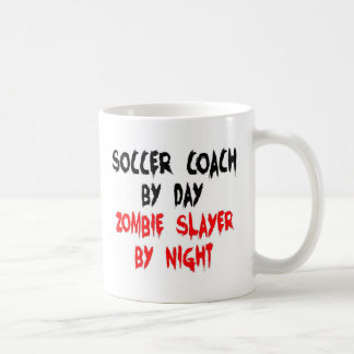 Soccer Coach Zombie Slayer Coffee Mug