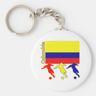 Soccer Colombia Key Ring