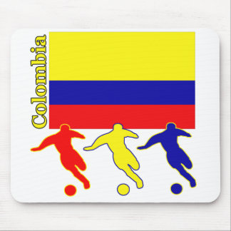 Soccer Colombia Mousepad