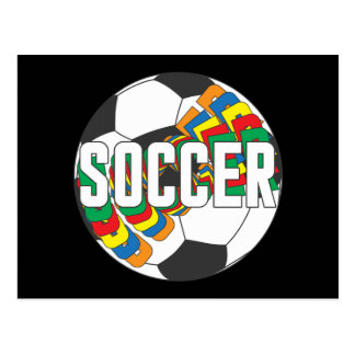 Soccer Colors Post Cards