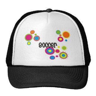 Soccer Cool Polka Dots Cap