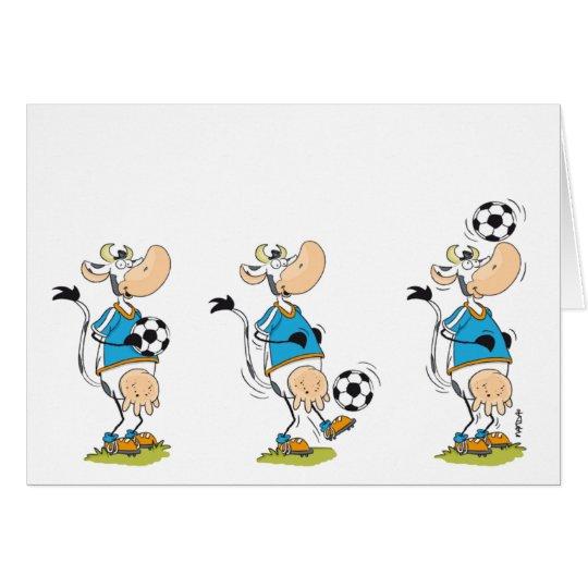Soccer Cow card