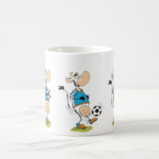 Soccer Cow Coffee Mug