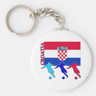 Soccer Croatia Key Ring