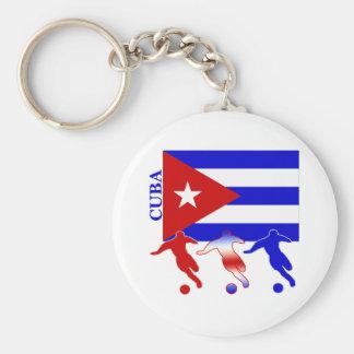 Soccer Cuba Key Ring