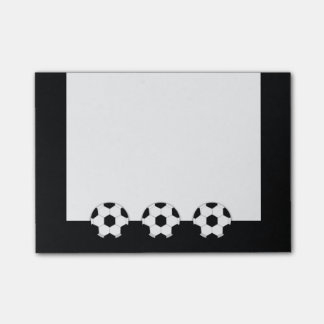 Soccer | Custom background color Post-it Notes