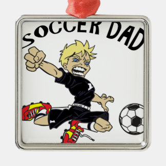 SOCCER DAD CHRISTMAS ORNAMENT