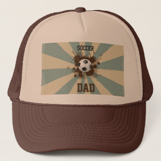 Soccer Dad Retro Design Trucker Hat