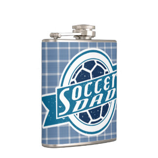 Soccer Dad Stainless Steel Hip Flask