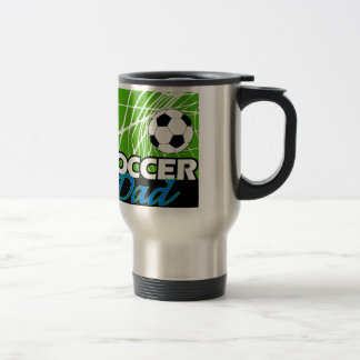 Soccer Dad Stainless Steel Travel Mug