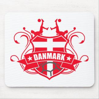soccer DANMARK Mousepad