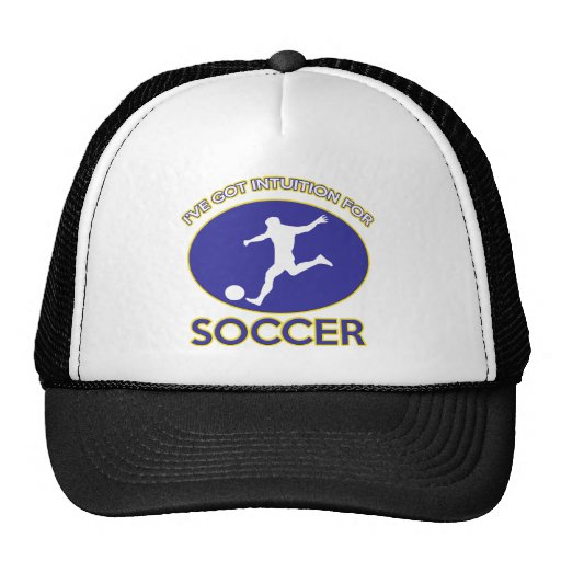soccer design trucker hats