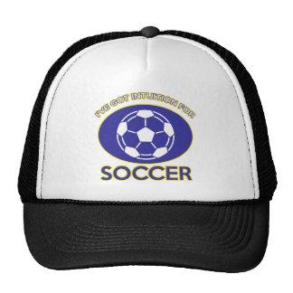 soccer design hats