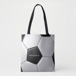 Soccer Design Tote Bag