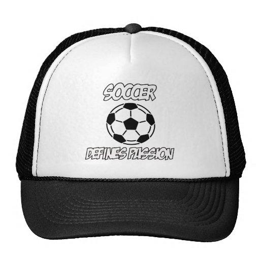 SOCCER designs Hat