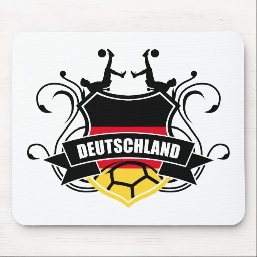Soccer Deutschland Fussball Mouse Pad