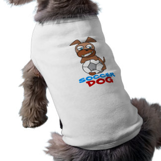 Soccer Dog Pet Clothing