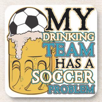Soccer Drinking Team Coaster